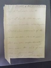 Duchess of Northumberland - signed Letter
