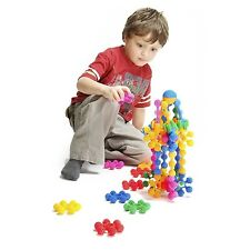 Sensory Piece Builder Toy Autism Special Need Educational 18 Pc Construction Set