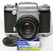 Pentacon Six TL 6x6 + Carl Zeiss Jena MC Biometar 2.8/80 ****EXCELLENT**** #0566