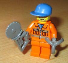 Lego City  - Figur - Bauarbeiter mit Zubehör