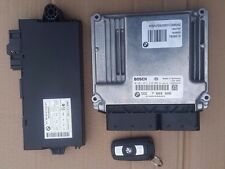 BMW 3 SERIES E90 320D N47 ENGINE ECU KEY SET DDE CAS3 7809000