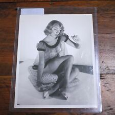 "Original Vintage GIL ELVGREN Pin Up Girl Model Photograph ""Woman in Lingerie"""