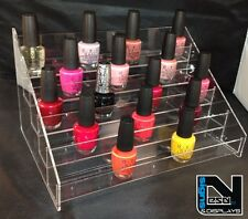 NAIL POLISH ORGANIZER HOLDS OPI CND SHELLAC GEL POLISH APPROX 50 BOTTLES (ECO 50
