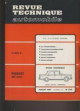 (C6)REVUE TECHNIQUE AUTOMOBILE  PEUGEOT 404 DIESEL