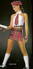 SCHOOL'S OUT School Girl Tap Skirt,Top & Socks Dance Costume Adult XL