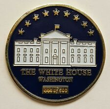 """The White House Commander in Chief POTUS Washington D.C. Serial # 444 Coin 1.5"""""""