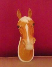 RARE BESWICK WALL MOUNT - PALOMINO HORSE HEAD MODEL NUMBER 1384 - PERFECT !!