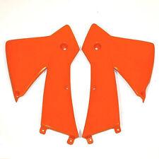 Ufo Kühlerverkleidung orange Tankspoiler KTM SX 400 520 Racing 01-02