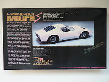 UNION 1:20 Lamborghini Miura The Memorial Collections Nr.MC53 1500 Modellbausatz