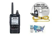 Yaesu FT-2DR Dual Band Transceiver Bundle with RT Systems Programming Kit!!