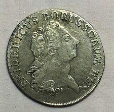 Germany Prussia 1772B 1/3 Thaler Silver Coin