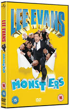 Lee Evans - Monsters Live [DVD] [2014] Stand-up Comedy New Sealed