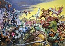 POSTER HE MAN AND THE MASTERS OF THE UNIVERSE GRANDE 13