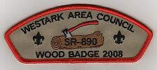 Westark Council CSP, TA-38:1, Woodbadge 2008, Mint!