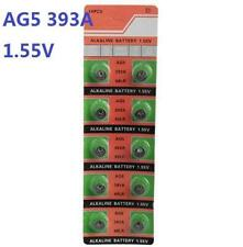 10X Batteries AG5 L754 LR48 393A SR48 Coin Button Cell Battery Watch camera *