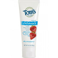 Toms Of Maine Fluoride Free Toothpaste, Silly Strawberry 4.20 oz