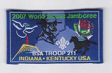 2007 World Scout Jamboree USA BOY SCOUTS OF AMERICA INDIANA KENTUCKY T211 JSP