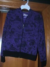 ABBEY DAWN KIDS HOODIE JACKET FOR GIRLS SZ MED 8/10 PURPLE RETAIL $42