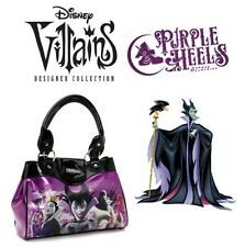 Disney Store Villains Limited Edition Maleficent Metallic Purple Handbag