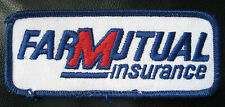 FARM MUTUAL INSURANCE EMBROIDERED SEW ON ONLY PATCH ADVERTISING  NEBRASKA