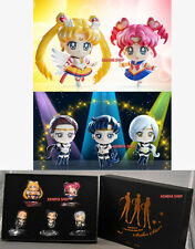 SAILOR MOON MEGAHOUSE PETIT CHARA SAILOR STARS SET 5 Figures LIMITED CHIBI CHIBI