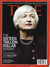 TIME VOL.183 N°2 20/01/2014 JANET YELLEN/ INDIA'S FOOD CHALLENGE/ PUSSY RIOT