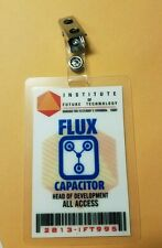 Back To The Future ID Badge - Flux Capacitor All Access cosplay prop costume