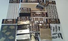 Gatsby Complete bundle kit lot Craft card making scrap book 'New 12th item'
