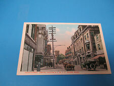 Empire Theatre & Y.M.C.A Salem,Massachusetts Vintage Colorful Postcard PC21