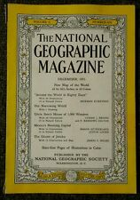 National Geographic magazine December 1951 No Map, Around the world in 80 days