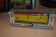 Vintage Gilbert American Flyer HO Scale 502 Cattle Car NEW IN BOX