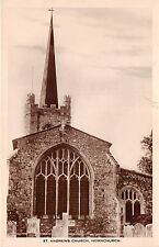 BR59055 st andrew s church  hornchurch   uk real photo