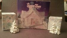 Precious Moments 529281 Sugar Town Lighted Doctor's Office Plus 2 Trees
