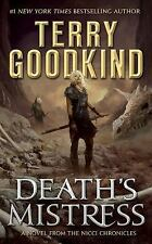 Death's Mistress by Terry Goodkind (2017, CD, Unabridged)