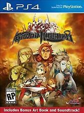 PS4 RPG-GRAND KINGDOM LAUNCH DAY EDITION(COMES WITH GAME-ART BOOK-SOUND  PS4 NEW