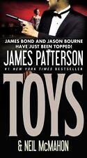 Toys-James Patterson-2011 Hays Baker novel #1-large paperback-combined shipping