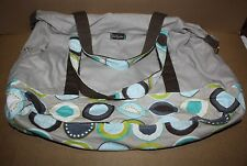 Thirty-one 31 Retro Metro Weekender Retired Taupe / Minty Chip New/Unused