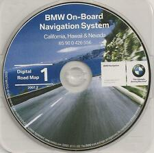 1997 to 2002 BMW 3 5 7 Series X5 M3 M5 Cooper Navigation CD Map #1 Cover: CA NV