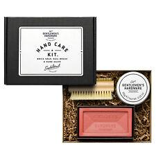 Hardware entre caballeros - 3 piezas Kit de cuidado de mano Conjunto de regalo en caja de presentación