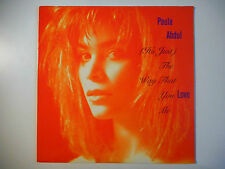 "MAXI 12"" POP 80s  ▒ PAULA ABDUL : ( IT'S JUST ) THE WAY THAT YOU LOVE ME (REMIX)"