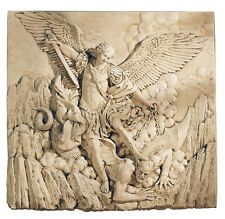 St. Michael the Archangel by Guido Reni Renaissance Sculpture Relief Plaque
