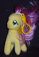 TY FLUTTERSHY (MY LITTLE PONY) BEANIE BABY KEY CLIP - MINT with MINT TAGS