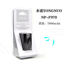 2pcs Original YONGNUO 7800mAh NP-F970 Li-ion Battery for YN600 YN600L II