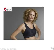 BNWT SWEGMARK SPORTS BRA  SIZE 40D HIGH IMPACT CUSHIONED UNDERWIRE GOOD SUPPORT