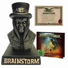 BRAINSTORM - SCARY CREATURES - CD+DVD BOXSET NEW SEALED 2016