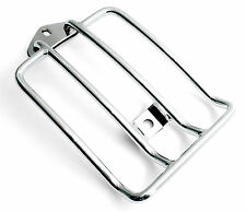 Carrier Chrome For Harley Sportster Xl From 2004- Luggage Rack Solo Seat Custom