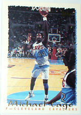 CARTE NBA BASKET BALL 1995 PLAYER CARDS MICHAEL CAGE (337)