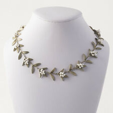 Michael Michaud - Flowering Myrtle Necklace - Silver Seasons Jewelry