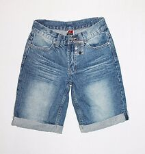 Brooklyn Industries Designer Blue Cuff Denim Shorts Size 10-S BNWT #SS69