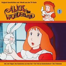 Alice im Wunderland - 01: das Kaninchen aus dem Hut der Tränensee / + - CD NEU